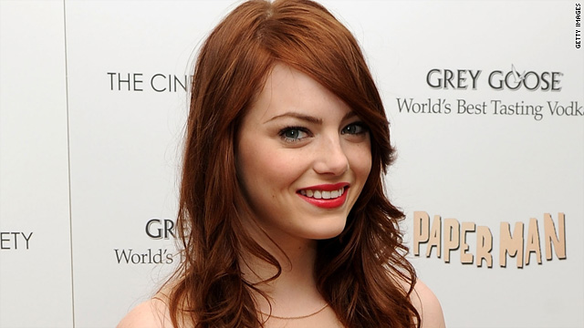 Emma Stone cast as Gwen Stacy in 'Spider-Man'