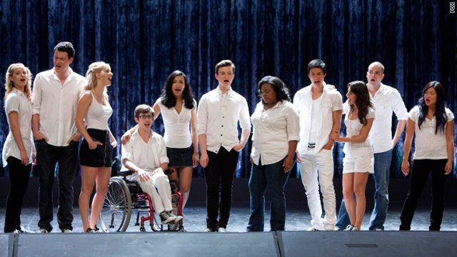 'Glee' tops Beatles Hot 100 record