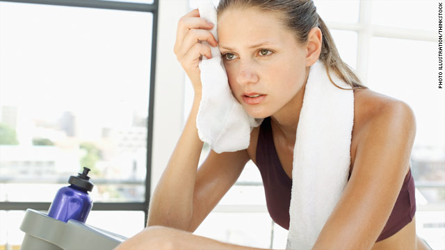 Who's better at sweating: Men or women?