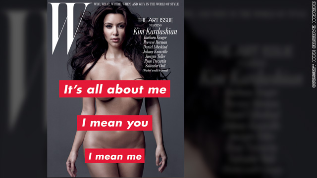 Kim Kardashian takes it (all) off for W magazine