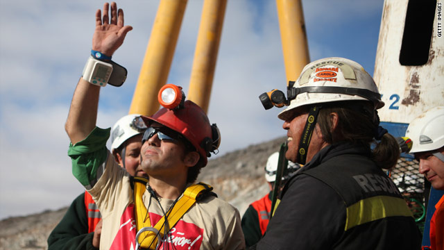 Chilean miners inspire book, separate mining reality show on its way
