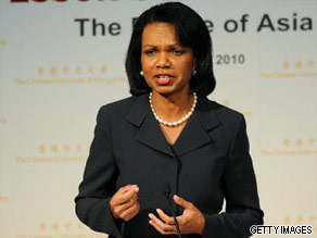 Condoleezza Rice is your Connector of the Day.