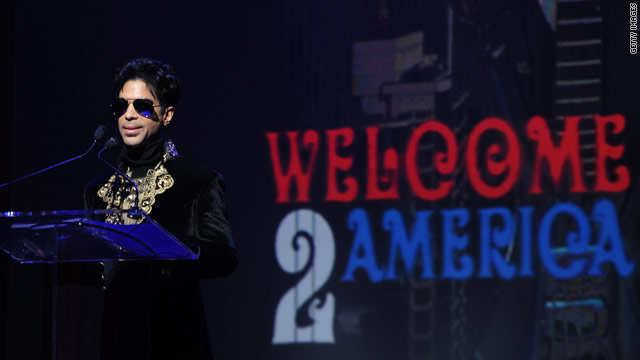 Prince announces Welcome 2 America tour
