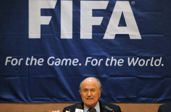 Members of the FIFA executive committee, of which Sepp Blatter is president, have been accused of selling their votes of the 2018 and 2022 World Cup election in December.
