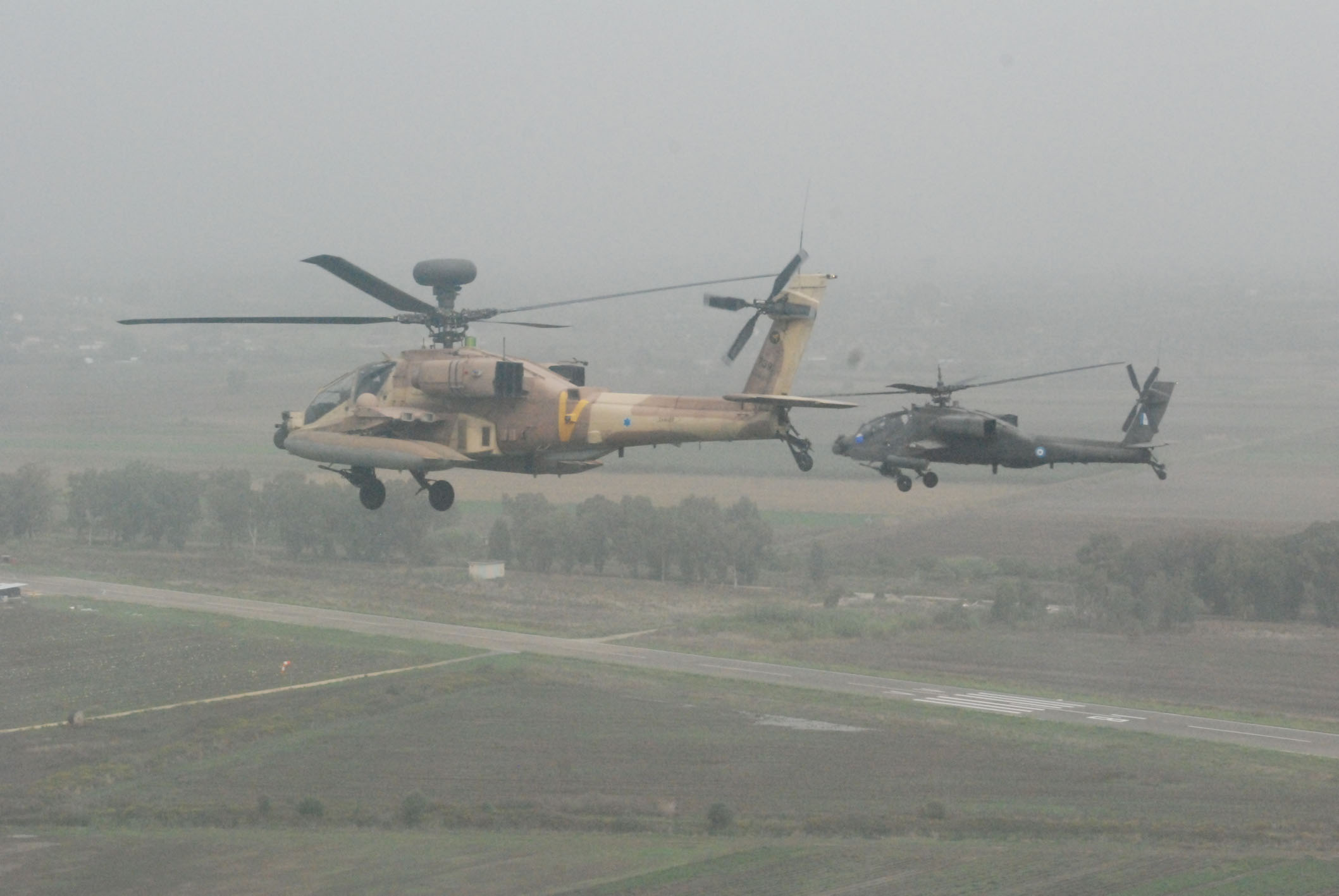 Israeli and Greek Air Forces train together in Greece  (Israeli Military Photo)