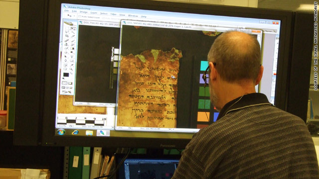 Digitized Dead Sea Scrolls to be available online