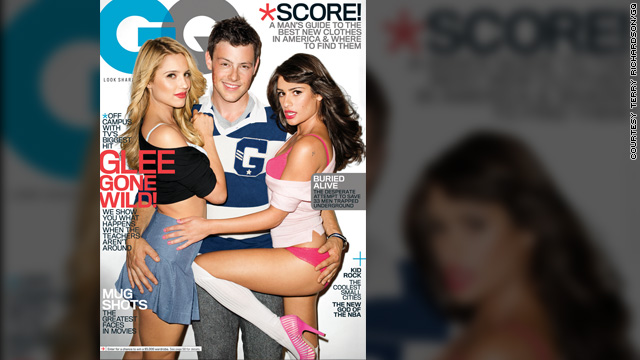 'Glee' gets 'wild' in GQ