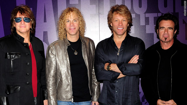 Bon Jovi to perform at CNN Heroes tribute