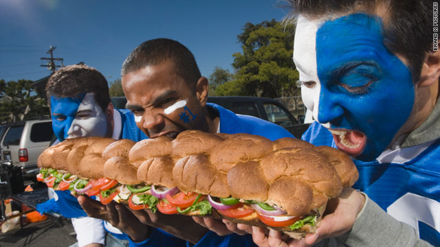 Lunchtime poll - tailgating food