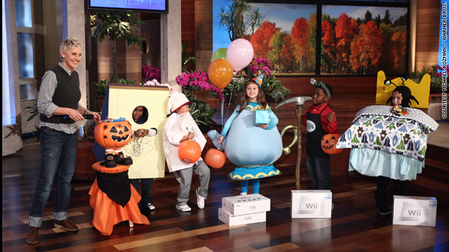 Kids Halloween costumes by Ellen DeGeneres