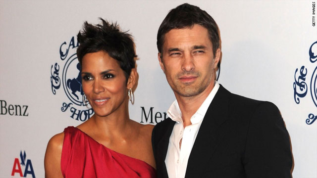 Halle Berry steps out with a new man