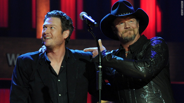 Blake Shelton inducted into the Grand Ole Opry