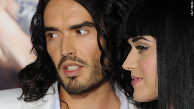 Russell Brand and Katy Perry wed in India