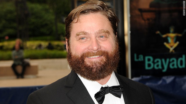Zach Galifianakis jokes about canned Gibson cameo