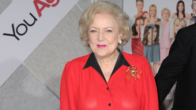 Betty White: &#039;Ive always liked older men&#039;