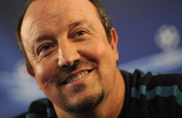 Rafa Benitez, Inter Milan's Spanish coach faces a testing time in his first season.