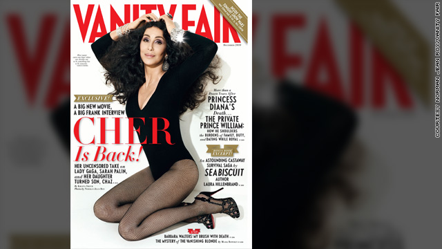 Cher talks Chaz, Sonny and aging in Vanity Fair