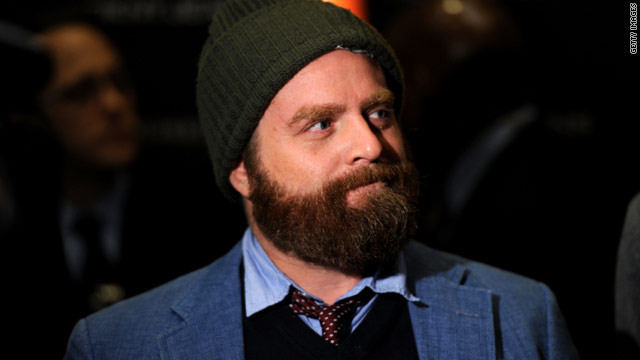 Zach Galifianakis lit up a fake joint on 'Real Time'