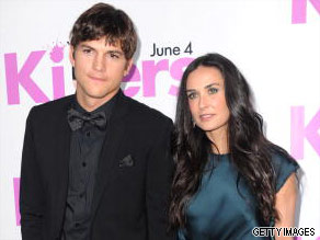 Ashton Kutcher and Demi Moore are your Connector of the Day.