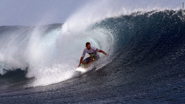 Dengue hit Irons' surfing tour