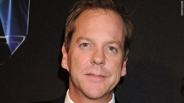 Kiefer Sutherland to make Broadway debut