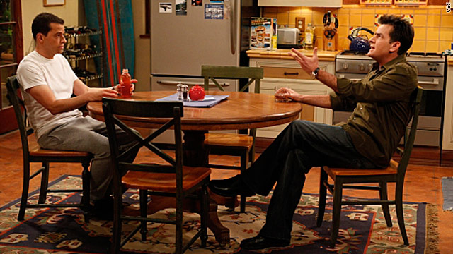 &#039;Two and a Half Men&#039; ratings go up