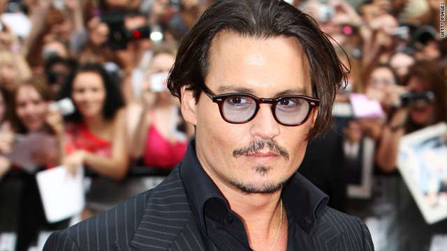 Johnny Depp to star in 'Dark Shadows'
