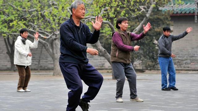 Tai chi helps arthritis pain, stiffness