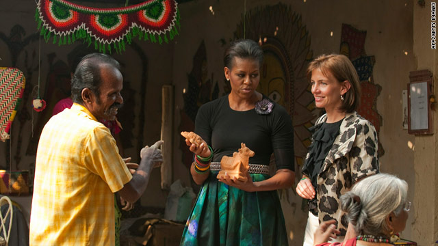 First Lady's visit to National Handicrafts and Handloom Museum