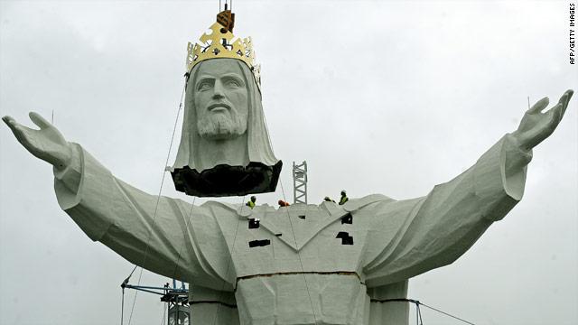 World's tallest Jesus statue complete