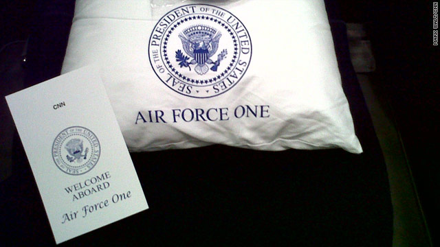 Traveling on Air Force One