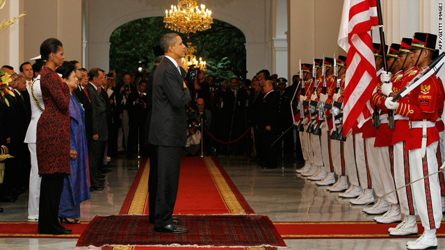White House officials preview Indonesia speech