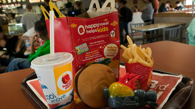 Would you like that Happy Meal to go - permanently?