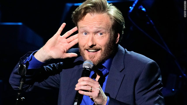 'Conan' beats 'Tonight' and 'Late Show' in ratings