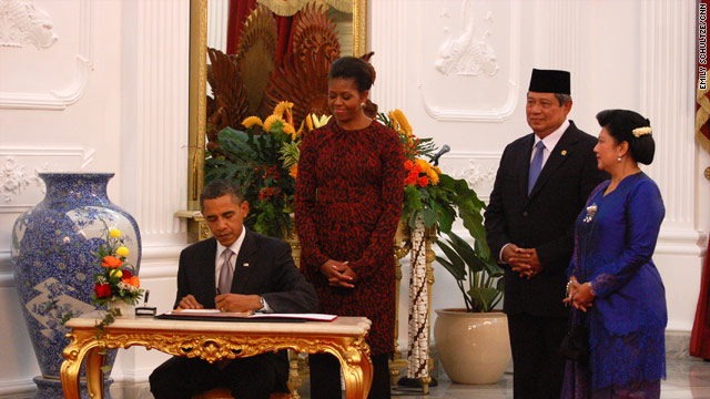 Press conference by President Obama and President Yudhoyono