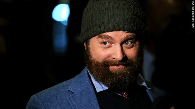 Comedian-actor Zach Galifianakis talks about faith
