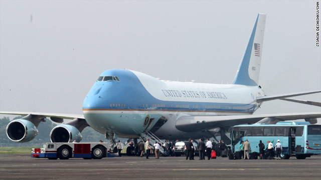 Obama arrives in South Korea