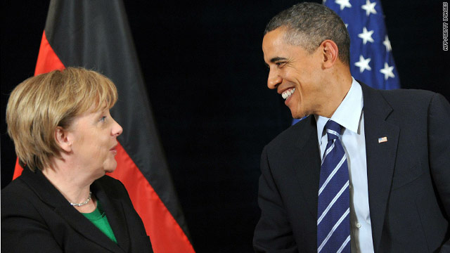 Remarks by President Obama and German Chancellor Merkel