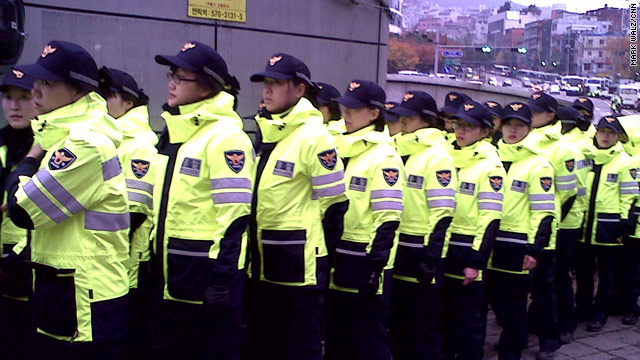 Police on standby for protests in Seoul
