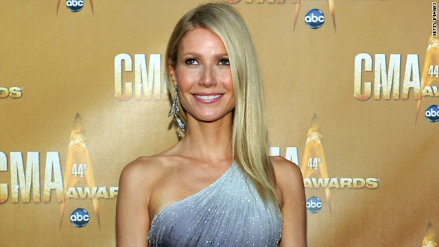 Paltrow studied Beyoncé's moves before CMAs