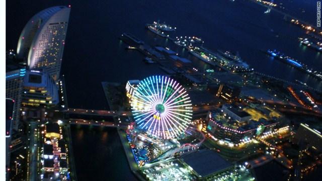 Konnichiwa Yokohama!