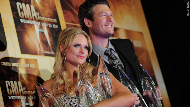 Miranda and Blake: Country's new golden couple?