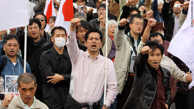Images of Japan: APEC protests