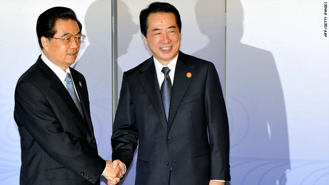 Japan hopes for U.S. help in row with China