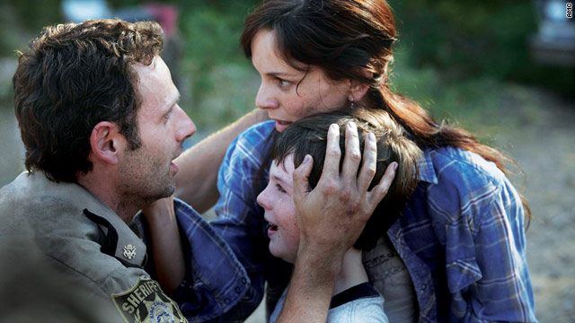 A short-lived reunion on 'The Walking Dead'