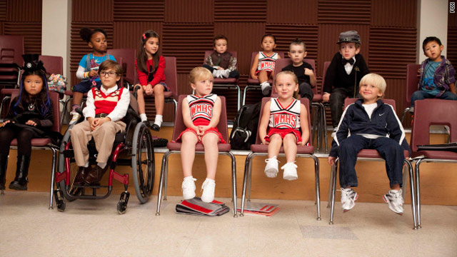 Oh baby, look who will be on 'Glee'