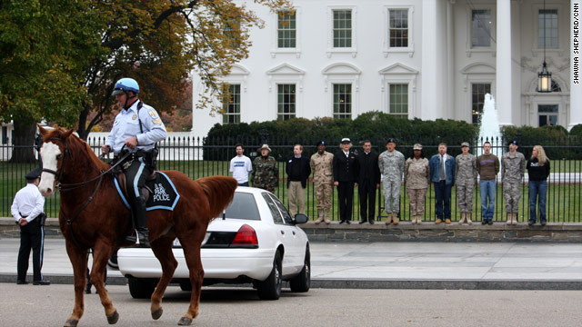 Gay rights protesters arrested at WH