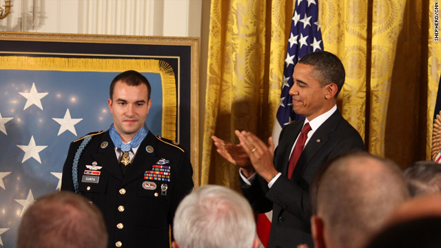 Remarks by the president in awarding the Medal of Honor