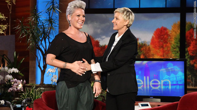 Pink confirms pregnancy on 'Ellen'