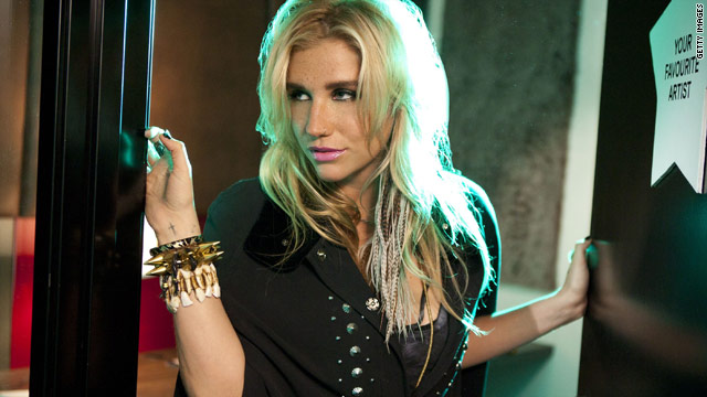 Ke$ha reveals the deal with the dollar sign on Funny or Die